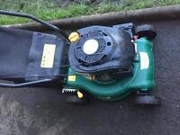 B&Q petrol lawnmower