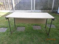 desk/bench suitable for workshop