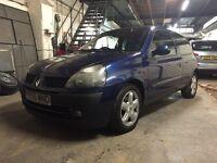 2001/Y Renault Clio 1.4 16v 3door
