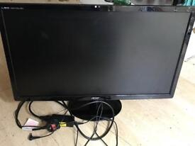 "Acer 27"" monitor. Immaculate !"
