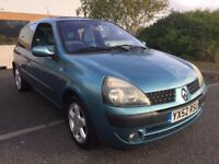2003 RENAULT CLIO 1.2 EXPRESSION * 3 DOOR * 1 YEAR MOT * LOW MILES * PART EX * DELIVERY *