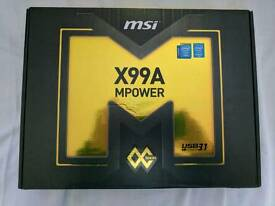 MSI x99a mpower motherboard