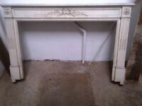 beautiful ornate wooden fire surround can deliver