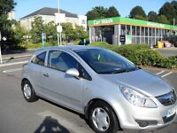 NEW SHAPE VAUXHAL CORSA 1.0 LIFE 3 DOOR LOW MILEAGE CHEAP INSURANCE AND TAX