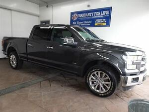 2016 Ford F-150 LARIAT 4X4 LEATHER  SUPERCREW CAB NAV SUNROOF 3.
