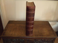 Very Large Antique Welsh Bible - Peter Williams Edition