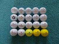 20 x WILSON STAFF Golf Balls -Grade A condition!