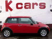 03 MINI ONE 1.6 WITH 12 MONTHS MOT FULL SERVICE HISTORY 3 MONTHS RAC WARRANTY