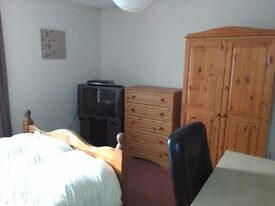 Double room in shared house in Torquay (Shiphay)