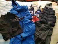 Boys age 9/10 coats bundle