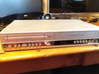 Phillips dvd recorder and video cassette.
