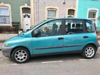 fiat multipla 1.9 diesel 6-seaters