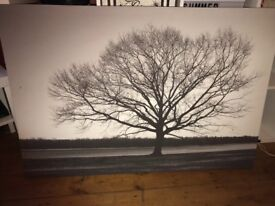 Large tree canvas