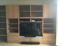 IKEA Besta storage and TV unit