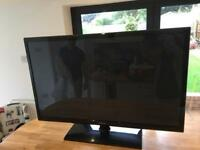Samsung 43 inch flat screen plasma TV