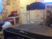 Higear kitchen stand and table
