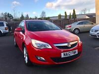 2012 12 Vauxhall Astra 1.7 Diesel manual Red 5dr