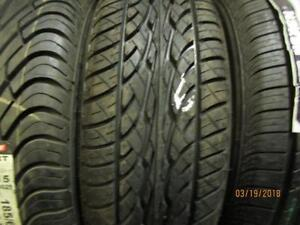 185/60R15 SINGLE ONLY NEW DUNLOP A/S TIRE