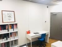 2 x Desk spaces available in Hackney Downs Studios