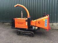 WOOD CHIPPER HIRE SHREDDER, WE COVER ALL NOTTINGHAMSHIRE & DERBYSHIRE, SELF DRIVE OR OPERATED