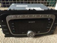 6 CD Sony head unit for Ford Focus or Mondeo