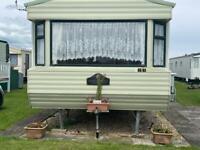 Two bedroom caravan to hire Chapel St Leonard's SKEGNESS