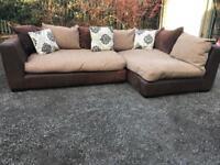 Large corner sofa