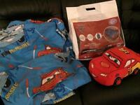 Cars Junior bed set & cushion