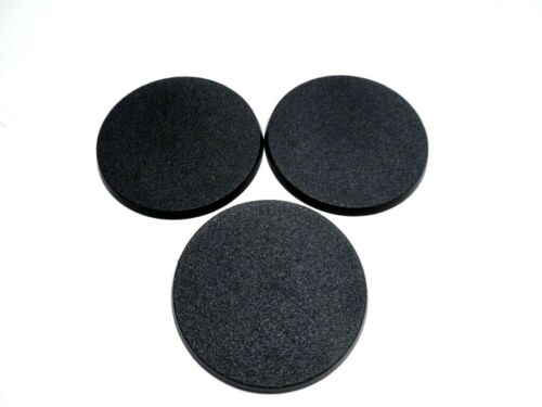 Lot of 3 80mm Round Bases Warhammer 40k & AoS Official GW Leviathan Kavalos