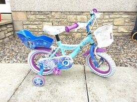 Kids Frozen Bike 12""