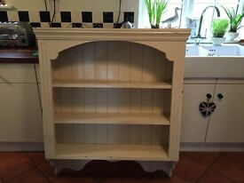 Painted shelving unit/wall unit/dresser to