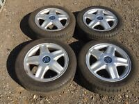 "For sale - Vauxhall Corsa / Astra 15"" alloy wheels - excellent tyres"