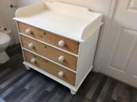 Baby changer wash stand etc Solid pine