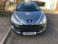 2010 Peugeot 308 1.6 VTi S 5dr Manual @07445775115 6 Months Warranty Included