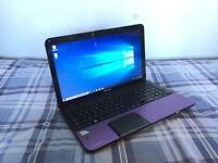 Toshiba Satellite C855-1TD Purple Laptop