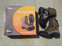New, Boxed Prologic Survivor Boot: Hiking / Fishing / Camping Size 6