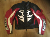 Hein Gericke Leather Motorcycle Jacket and trousers size 58