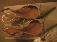 Dune wedding shoes, size 37 - brand new with box.