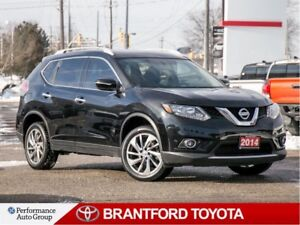 2014 Nissan Rogue SL, Leather, BU Camera, Pano Sunroof, Alloy's