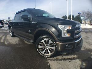 2015 Ford F-150 King Ranch Fully Loaded+Fin From 1.9%