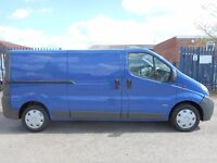 FINANCE ME!! NO VAT!! vauxhall vivaro rare twin side door 2.0l tdi lwb pannel van