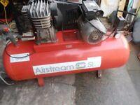 s i p airstream compressor 150l
