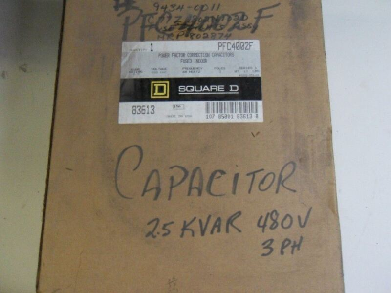 (H15) 1  SQUARE D PF4002F CAPACITOR H15
