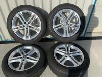 """19"""" Genuine Audi Q5 S-Line Alloy wheels & tyres - 5x112"""