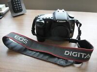 Canon EOS 30D DSLR Camera complete with 18-55mm Lens and 75-300mm Zoom Lens plus other accesories.