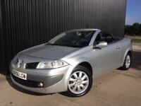 2006 (56) Renault Megane 1.6 VVT Dynamique 2dr Panoramic Roof,12 Months MOT,1 Month Warranty May PX