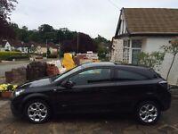 Vauxhall Astra 1.7 CDTi 16v SXi Sport Diesel Hatch 3dr black with warranty, health checked 18/07/16