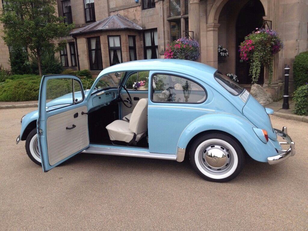 1970 VW Beetle 1200 (Restored) Marina Blue/Ivory | in Crewe, Cheshire | Gumtree