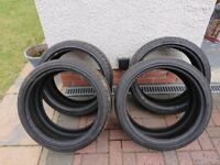 19 inch Continental ContiSportContact Tyres Set of 4