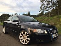 2006 AUDI A4 S LINE 2.0 TDI DIESEL FULL SERVICE HISTORY EXCELLENT CONDITION MOTD JULY 2017